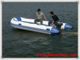 Barca del pontone di Jago con il pavimento di alluminio