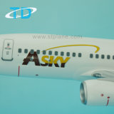 B737-700 Asky 34cmモデル1/100スケールのプラスチック飛行機