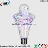 온난한 백색 창조적인 디자인 LED 3W 장식적인 전구가 LED 철사에 의하여 구리 철사 요전같은 빛 세륨 UL 점화한다