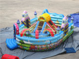 Cheer Amusement Arco Iris Castillo Inflable