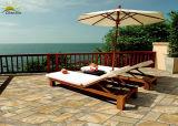 Tasso di assorbimento quadrato dell'acqua bassa di stile del mattone delle mattonelle di ceramica del pavimento del balcone