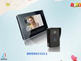 Porte Bell visuelle de téléphone de porte de TFT LCD de couleur de 9 pouces pour la sûreté de Chambre