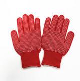 Перчатки руки сада PVC Sanjian работая оптом