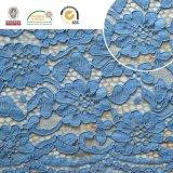 2017 Qualität Dyeable Blumen-Spitze-Gewebe-Bedeckungbaumwoll-/Spandex-Garne 174