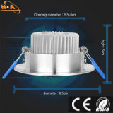 3W 5W Energy Saving Downlight Led de lumière au plafond