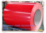 el espesor de 0.13-1.2m m prepintó la bobina galvanizada
