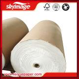 rolo seco rápido do papel de impressão do Sublimation 45GSM para a impressão de alta velocidade