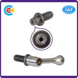 DIN/ANSI/BS/JIS Carbon-Steel/Stainless-Steel 4.8/8.8/10.9 galvanizado a manejar el tornillo para el puente del ferrocarril