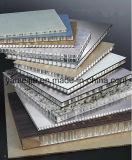 Painéis Decorativos de favo de mel de alumínio usados para construção e decoração