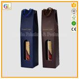 Boîte en papier ondulée personnalisée pour emballage de vin