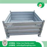 Recipiente de metal dobrável para armazenamento de armazém com Ce