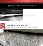 Four électrique commercial de pizza de convoyeur d'acier inoxydable