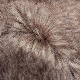 Tessuto lungo della pelliccia del mucchio dell'alta del mucchio di falsificazione della pelliccia pelliccia del Faux con il mackintosh per l'indumento del bambino