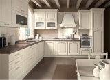 Champagn MDFのキャビネットドアの台所家具