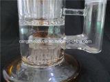 Tubo di vetro colorato della caffettiera a filtro con il forte imballaggio