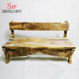 Plantador suculento de encargo del rectángulo de madera, crisoles de madera decorativos de interior de la planta