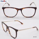 Moda óculos de acetato de quadros na óptica Kf1263