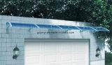 De grote Luifel van de Deur van het Polycarbonaat Plastic, het Afbaarden van het Venster van de Schaduw van de Zon (yy1500-h)