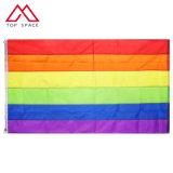 3X5FT genähte Streifen-homosexuelle Stolz-Fahnen-homosexuelle Stolz-Regenbogen-Markierungsfahne
