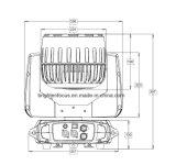 7X40W 4-en-1 RGBW LED Wash Head Zoom DJ Light