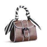 Bolsa do ombro da forma do couro genuíno das mulheres dos sacos de mão da forma do Mk