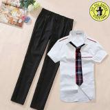 Modèle d'uniforme scolaire de modèle de mode de type japonais d'uniforme scolaire