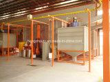 Sistema de capa del polvo para las puertas
