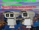 câmera do IP PTZ do laser HD da visão noturna 2.0MP 20X CMOS 10W de 1km