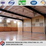 Sinoacmeは鉄骨構造のスポーツ・センターの建物を組立て式に作った