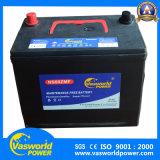 Bateria de carro livre da manutenção de N70z 12V75ah