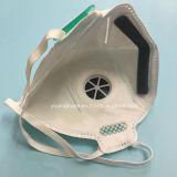 Masker van het Stof van pp het Niet-geweven N95 met Klep Gevouwen Vorm