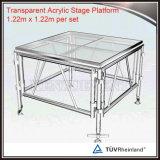 Im Freien beweglicher Stadiums-Fußboden-bewegliche Acrylplattform-Plexiglas-Plattform