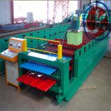 Máquina automática de alta velocidad de Foming de los paneles de pared de la azotea del metal de la capa doble