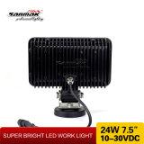 세륨 IP67 DC10-30V 24W 자동 LED 일 빛