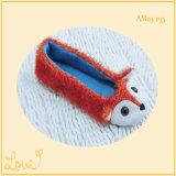 Senhoras Bonitinho Bailarina Indoor Ballet Dança Sapatos Slippper com Animal Fox