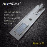 Le système de contrôle du capteur IRP APP pour 100W conduit Rue lumière solaire