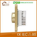 Diseño moderno ESTÁNDAR DEL REINO UNIDO El interruptor de control de velocidad del ventilador