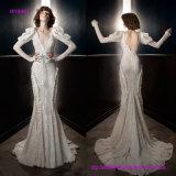 Пригонка нового типа способа шикарная и платье венчания пирофакела