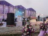 Het LEIDENE van het huwelijk Scherm/P8 Openlucht LEIDENE van het Stadium van de Huur Gebeurtenis toont Vertoning