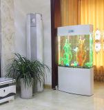 El tanque de pescados de acrílico con control de la temperatura germicida de la lámpara del LED
