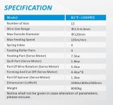 Kcmco-Kct-1260wz 6mm 12 축선 CNC 자동적인 Camless 다재다능한 봄 자전 봄 Machine&Torsion/Extension 봄 기계