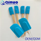 Новые продукты творческой печати силиконового герметика шпателем с деревянной ручкой