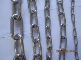 Corrente de ligação padrão do aço inoxidável