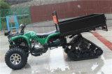 ATV eléctrico de almacenamiento grande con neumático de nieve de China Suministro