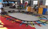 실내 상점가 궤도 트레인 Kiddie 탐 게임 기계