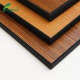 Панель ламината HPL компакта двойного бортового деревянного цвета феноловая