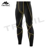 Pantalon actif de Legging d'usure de gymnastique de pantalon de sports pour les hommes