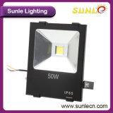 Lámpara de inundación al aire libre del negro LED del programa piloto de Sunle el PF95% (SLFI25)