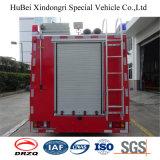 2ton Japón Isuzu chasis de alta presión incendio rociador Euro4 camión