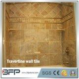 Беж облицовывает плитку стены ванной комнаты травертина мраморный для интерьера/экстерьера
